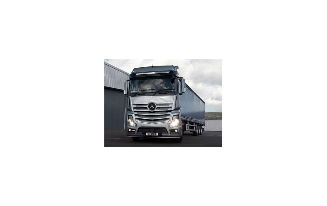 Отключение AdBlue в грузовике Mercedes SFTP MP4 (EURO6)